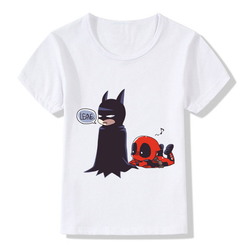 HTB1pWajb8cHL1JjSZJiq6AKcpXa2 - 2017 Deadpool Spiderman Superhero Funny Children T-Shirts Summer Tops Toddler Boys/Girls Clothes Costumes Baby Kids Tees,HKP2238