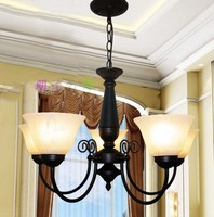 Multiple Chandelier Fashion brief iron american lighting lamps rustic restaurant lamp ZX88