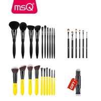 Buy 3 Get 1 Gift MSQ 3Sets High Quality Powder Foundation Eyeshadow Makeup Brushes Set And