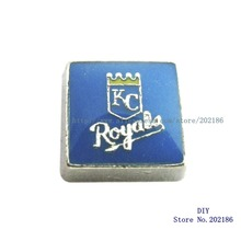 Al por mayor 10 unids KC Royals Locket memoria del encanto medallones  FC1115(China) bc11a2c57c0