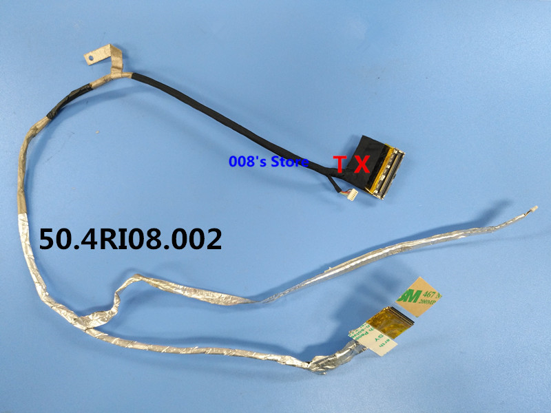 New LCD Cable For HP Pavilion Dv6-6000 Dv6-6XXX DV6-6135 DV6-6137 Dv6-6c51ca 50.4RI08.002 50.4RI08.022 LED Screen Flex