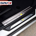 For BMW X1 F48 2016 2017 Accessories Stainless Steel Inside Door Sill Scuff Plate Thresholds High Quality Free Shipping