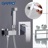 Gappo Bidet Faucet Bathroom Bidet Shower Set Shower Faucet Toilet Bidet Muslim Brass Wall Mount Washer