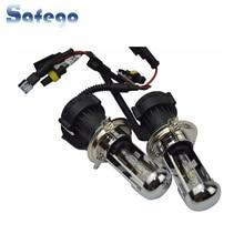 Safego H4 Биксенон HID Hi/лампы низкого напряжения переменного тока 35 W H4 Bi xenon H4-3 замена лампы 5000 K 6000 K 8000 K без нагрузки