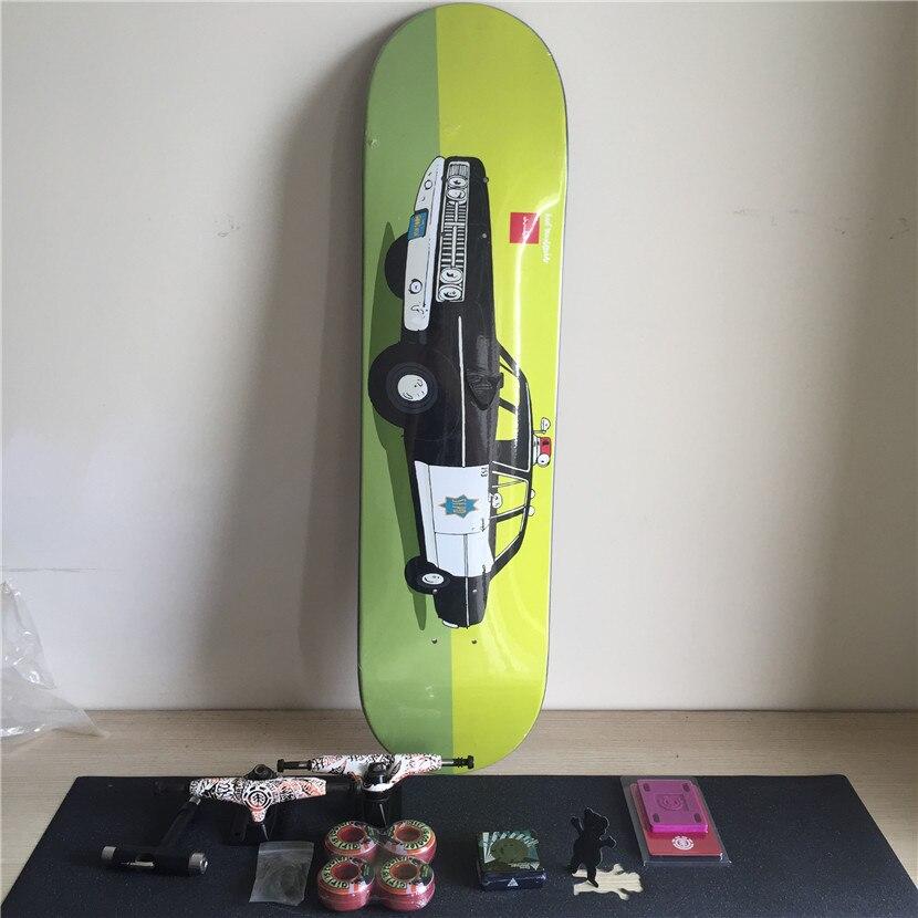 Complete Element Skateboard Set Pro Deck Truck Wheels  Bearings for Skateboarding