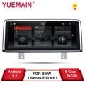 YUEMAIN Auto Radio GPS Für BMW F30 F31 F36 F34 F32 F33 F20 F21 NBT System Einheit PC Android 8.1 Autoradio navigation Multimedia