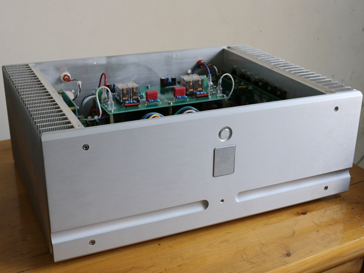 QUEENWAY HiFi Pure Power Amplifier D9 800W Canada Plitron Transformer/800W Japan Nippon Steel Transformer 430*158*313mm iwistao 300w toroidal transformer hifi power amplifier dedicated pure copper wire dual 33v