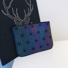 New Lingge Ladies Handbags Colorful Fashion Purse Temperament Female Wallet Phone Bag File Womens Bags