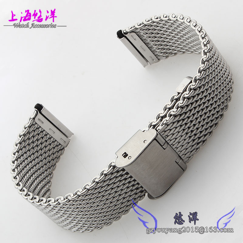 18mm 20mm 22mm 24mm Black Silver Gold Rose Gold Stainless Steel Mesh Watch Band Strap Bracelets Strap 8 10 12 14 16mm 18mm 20mm 22mm 24mm black silver gold rose gold ultra thin stainless steel milan mesh strap bracelets watch band