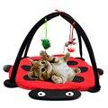 Gomaomi Pet Cat Игрушки Кровать Мобильные Деятельности Играл кровать Pad Одеяло Дома