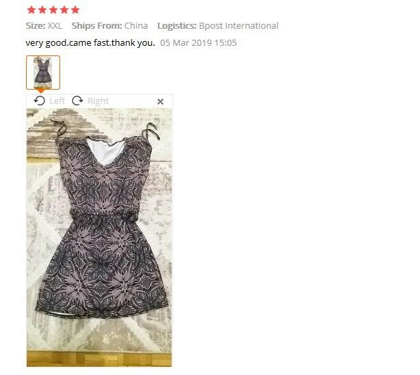 MISSOMO women dress summer 2019 Casual Sleeveless Retro Print Beach Mini Dress Beach Dress vestidos de verano