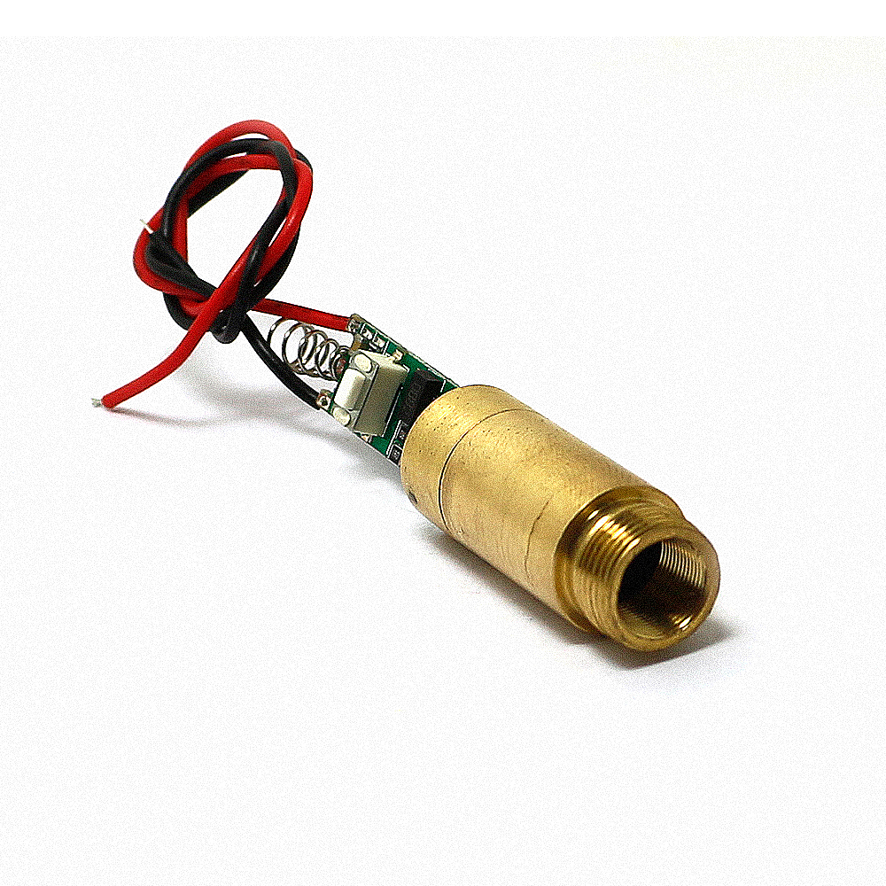 NEW 3.0-3.7V 650nm 200mW Red Laser  Diode Module Dot Point beam DIY new 3 0 3 7v 650nm 200mw red line laser diode module