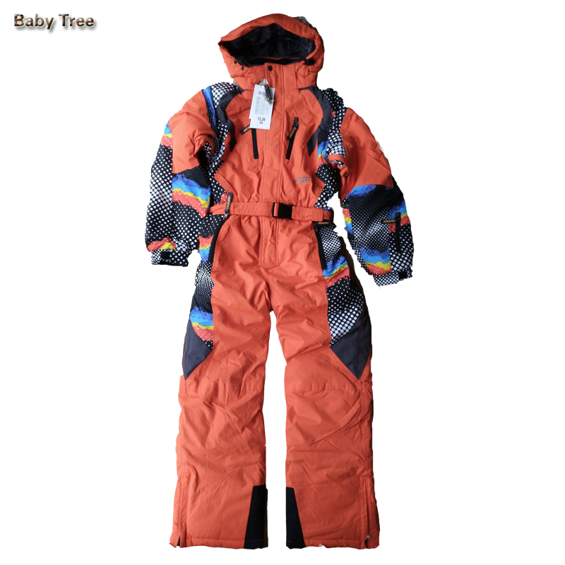 10-16Y High Quality Children Ski Suits Thicken Warmly Teenager Boys Girls Snowsuit Winter Skiing Outdoor Sport Clothes Set