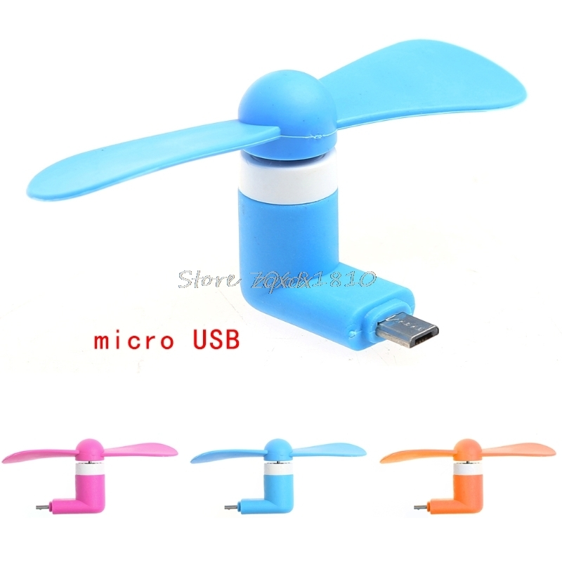 Mini Micro USB OTG Cooling Fan For Android Smart Phone Samsung LG HTC Huawei JUL09 Drop ship smart watch charger usb 2 0 charging cable cradle dock charger for huawei honor band 3 smart watch