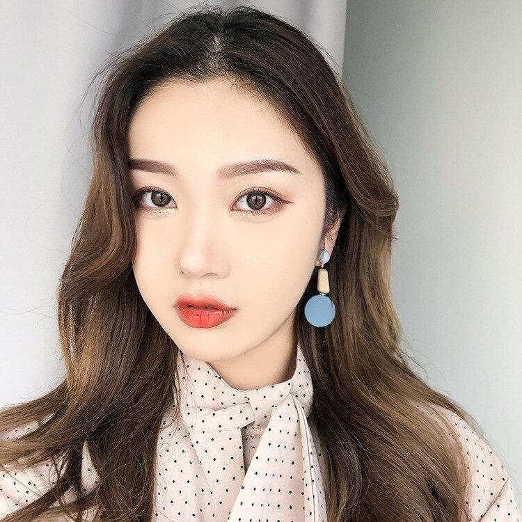 AOMU-Korean-Sweet-Irregular-Geometric-Square-Round-Circle-Button-Long-Drop-Earrings-for-Women-Girl-Wedding