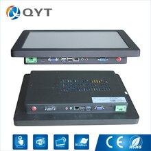 Сеть 15 дюймов 2 * RS232 touch все в одном компьютере PC TV процессор inter n3150 1.6 ГГц Разрешение 1024*768 с 4 * USB поддерживает win7/8/10