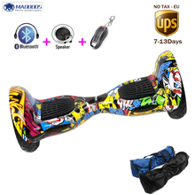 MAOBOOS Hover Board 10 inch Smart Self Balancing giroskuter two wheels electric skateboard for adults DE RU stock Hoverboards