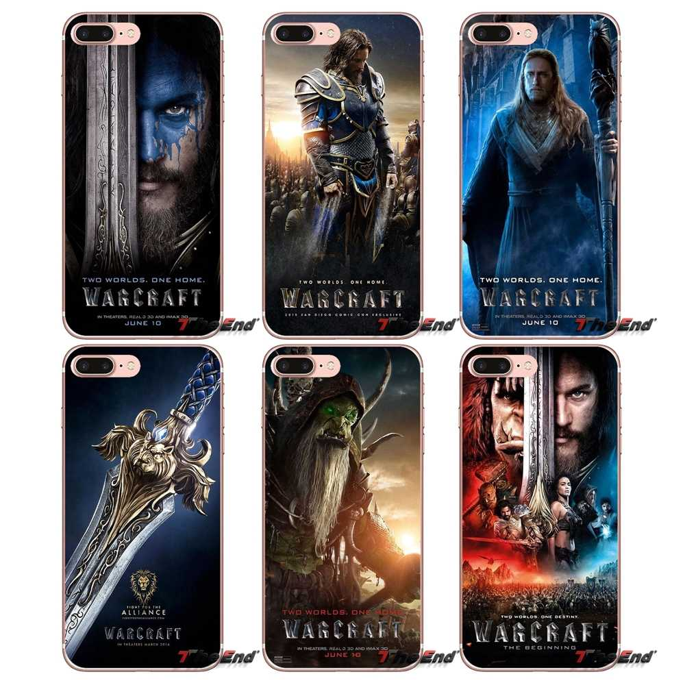 2016 WOW Warcraft Art Poster Film Kasus Untuk Xiaomi Redmi 4 3 3 S Pro Mi3 Mi4 Mi4i Mi4C Mi5 Mi5S Mi Max Catatan 2 3 4