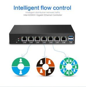 Image 3 - Intel Celeron 1037U güvenlik duvarı cihazı 6 LAN Intel i211AT Gigabit Ethernet RJ45 VGA 2xUSB 3.0 Pfsense yönlendirici Mini PC