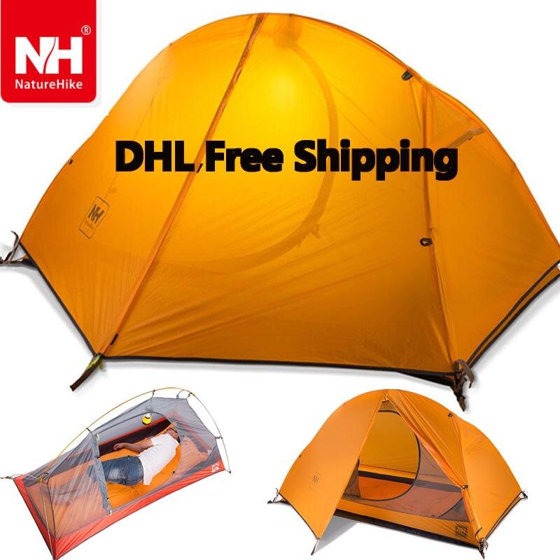 DHL freeshipping 1 5KG naturehike ultralight tent 1 person outdoor font b camping b font hiking