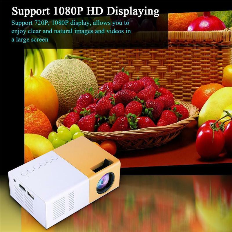 Food - Handheld projector 1080p