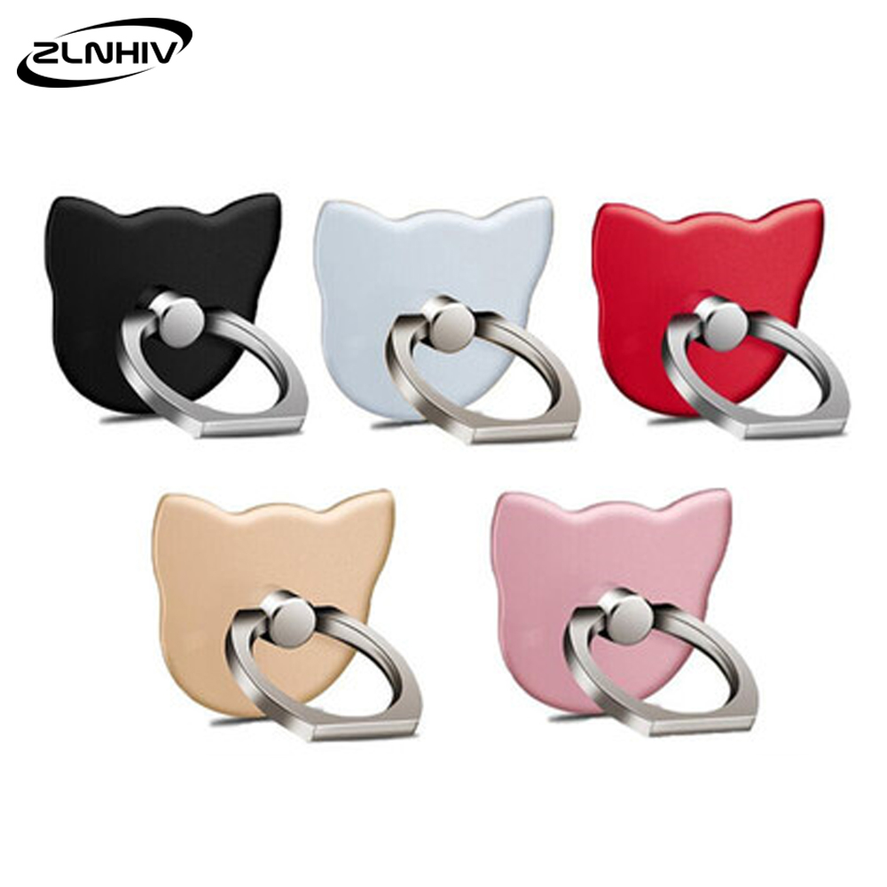 ZLNHIV Ring Mobile Phone Holder Stand For Phones Grip Support Accessories Cell Mount Finger Telephone Smartphone Round Cellphone