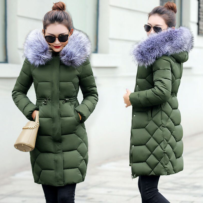 womens winter jackets and coats 2019 Parkas for women 4 Colors Wadded Jackets warm Outwear With