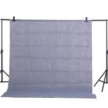 CY Sıcak Satış Gri 1.6x2 M Pamuk Olmayan kirletici Tekstil Muslin Fotoğraf Arka Plan Stüdyo Fotoğrafçılığı Ekran Chromakey zemin Örtüsü