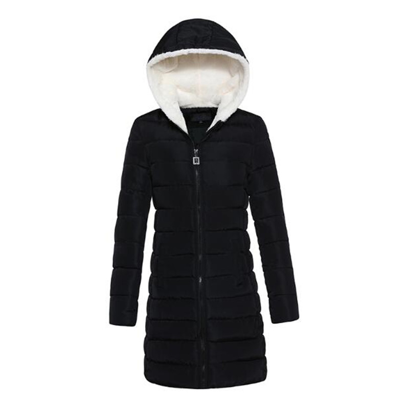 New Winter Jacket Women Warm Down Jacket Women High quality Long Slim Fashion Coat Thick Padded Hooded Female Parka Cotton  new obese men hooded down jacket in winter jacket coat plus size7xl8xl cotton padded clothes to keep warm and high quality coat