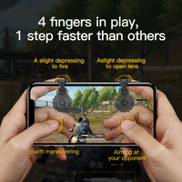 Baseus 1Pair L1 R1 Gaming Trigger Mobile Phone Games Shooter Controller Fire Button Handle For PUBG/Rules of Survival/Knives Out 1