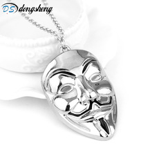 New Design Alien Charm Necklace Flying Charm Spaceship Sci Fi Galaxy Pendant Statement Necklace Unisex Creative Gift -30