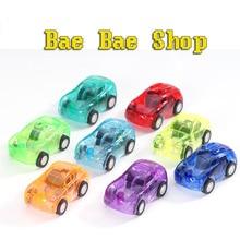 10pcs Baby Toys Pull Back Cars Plastic Cute Toy Cars for Child Wheels Mini Car Model