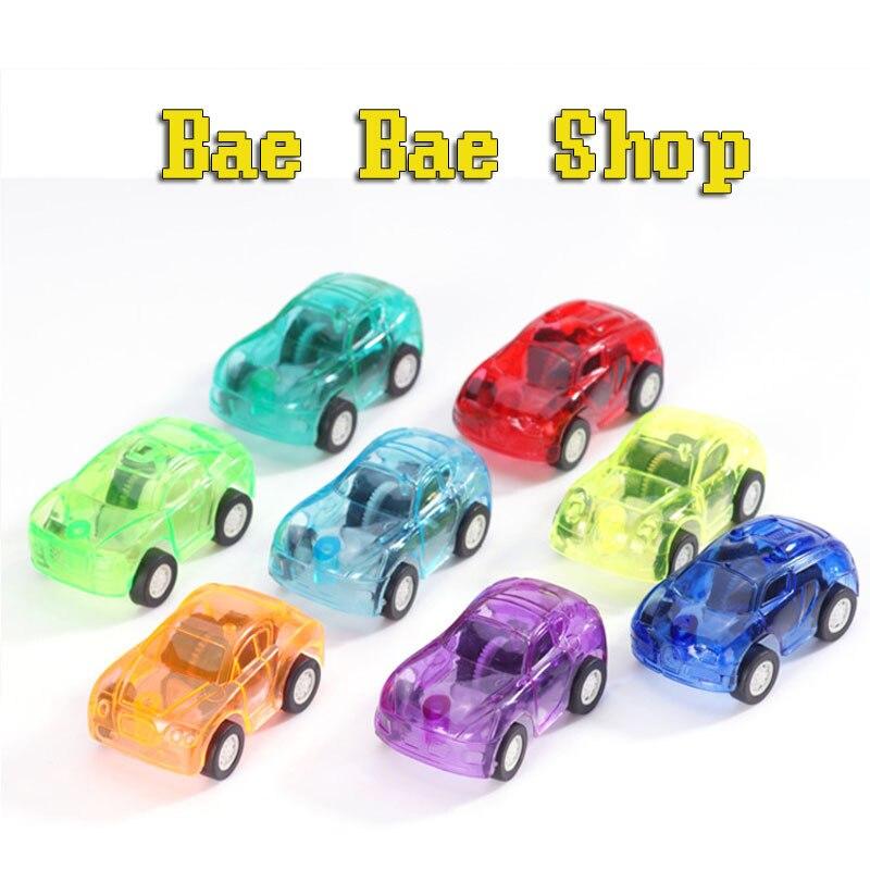 2pcs Baby font b Toys b font Pull Back Cars Plastic Cute font b Toy b