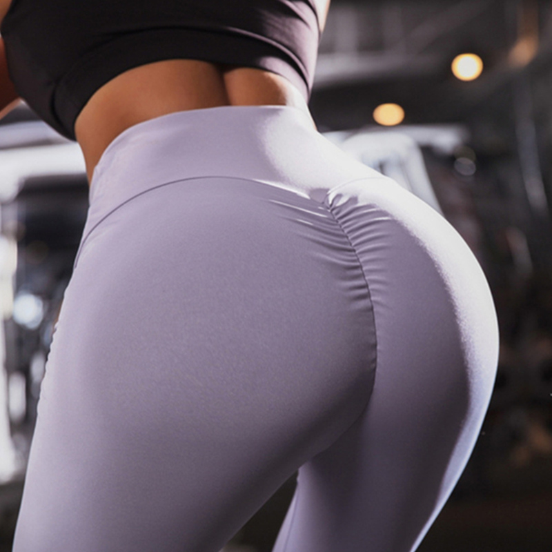 Solid Color Sexy Women Leggings Pants Push Up Gymshark Legins Trousers  Slim Fitness Skinny Leging Joggers High Waist  Leggins