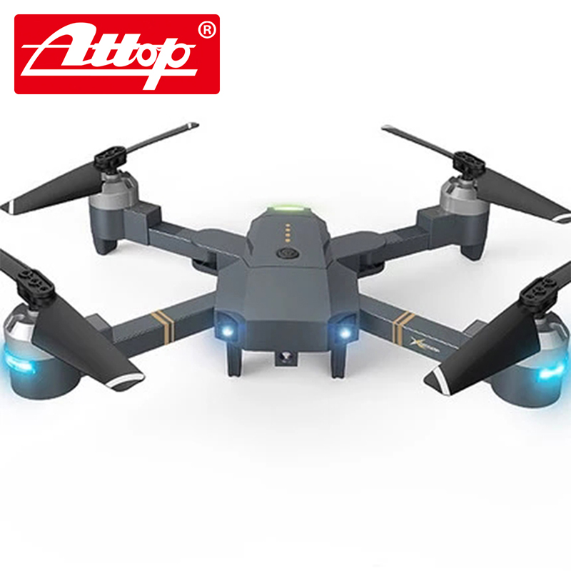 Attop XT-1 wifi  Four axis aircraft Folding plane With a camera remote control toy youdi 2 4g remote sensing four aircraft genuine four rotor helicopter toys wholesale shatterproof