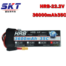 HRB RC AKKU 6S Lipo Battery 22.2V 3600mAh 35C Bateria Lipo For Helicopter Quadcopter RC Car Drone
