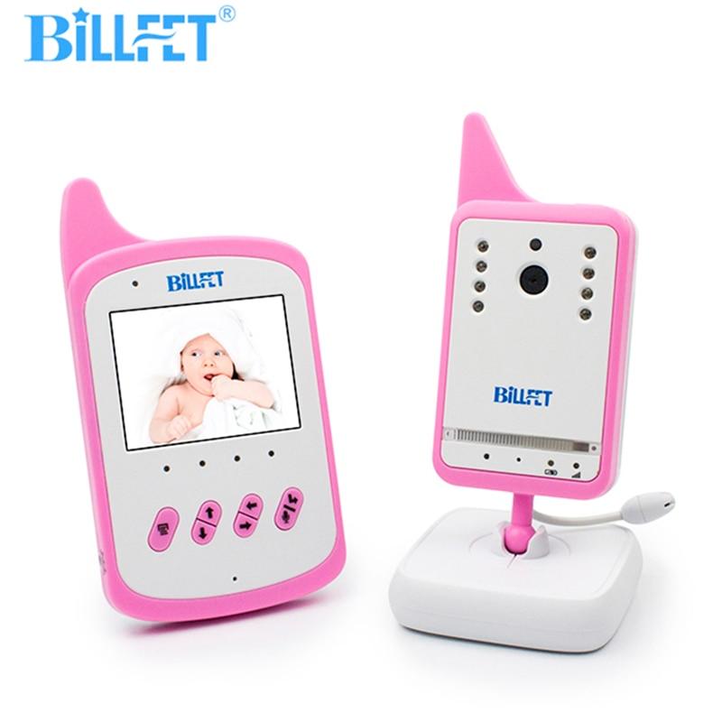Розовый Рации 360 Видеокамера Беспроводной Видео Baby Monitor Камера Колыбельная Няня Видео Няня Ночного Видения Радионяня баба для секса радионя…