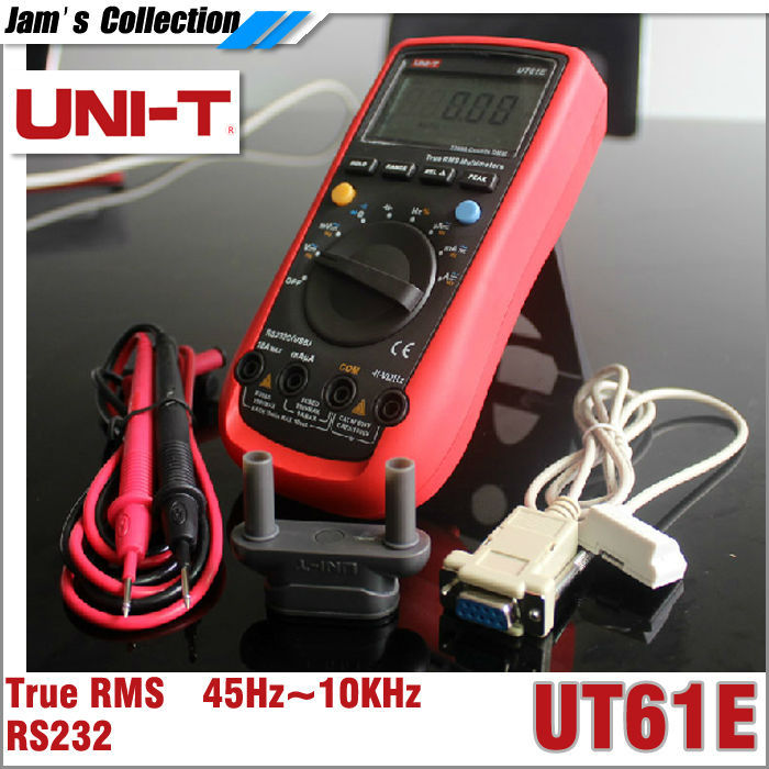 Мультиметр UNI/t UT61E RMS