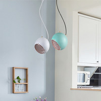 Nordic Multicolour Macaroon Pendant Lamp Creative Italy Designer B Dining Living Study Room Led Hanging Light Fixtures
