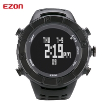 EZON спорт на открытом воздухе приключения альпинизм компас электронные часы светящиеся часы мужчины H001 Цифровые Наручные Часы