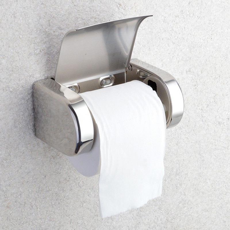 Top Sale Wall Mounted Toilet Paper Holder Durable ... on Wall Mounted Tissue Box Holder id=29627
