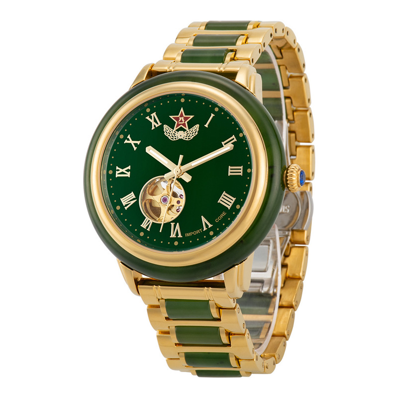 2020 Limited Rushed For Xinjiang Hetian Jade Custom Watches Automatic Mechanical Watch Male Between Steel Table A Undertakes