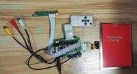 Reversing video Universal HDMI VGA 2AV 50PIN TTL LVDS Controller Board Moudle+8 inch 1024*768 HE080IA 01D LCD Display for Raspb