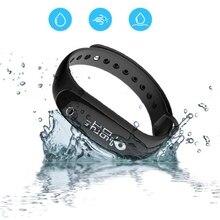 Новые яркие Смарт-фитнес браслет сердечного ритма Приборы для измерения артериального давления Мониторы здоровья браслет Спорт Шагомер Smart Band Android IOS