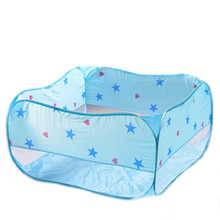 Play Tent Toy Portable Foldable Playhouses Square Game Ball Pool Pit Indoor Outdoor Soft Toys Gifts For Children Kids Baby foldable baby playpen hexagon star moon balls pool pit indoor outdoor children baby toy game play house kids gift play tent