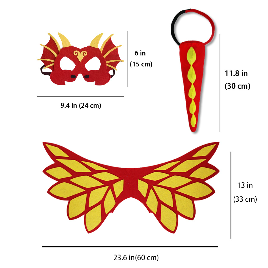 Brilliant Special L27* Cartoon Dance Costume Beautiful Girl Fairy Princess Costume Cape Mask Bracelet Gifts Party Kids Christmas Toys Novelty & Special Use