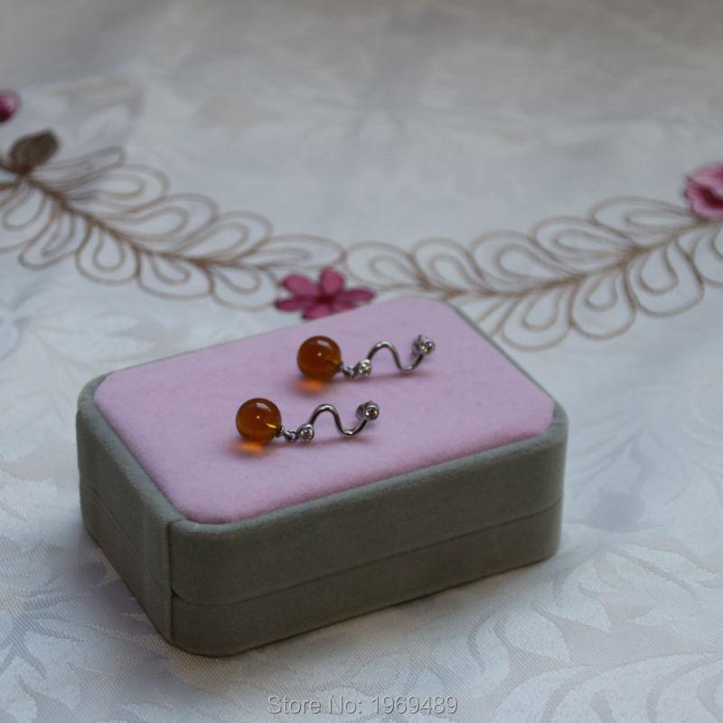 янтарные серьги заказать на aliexpress