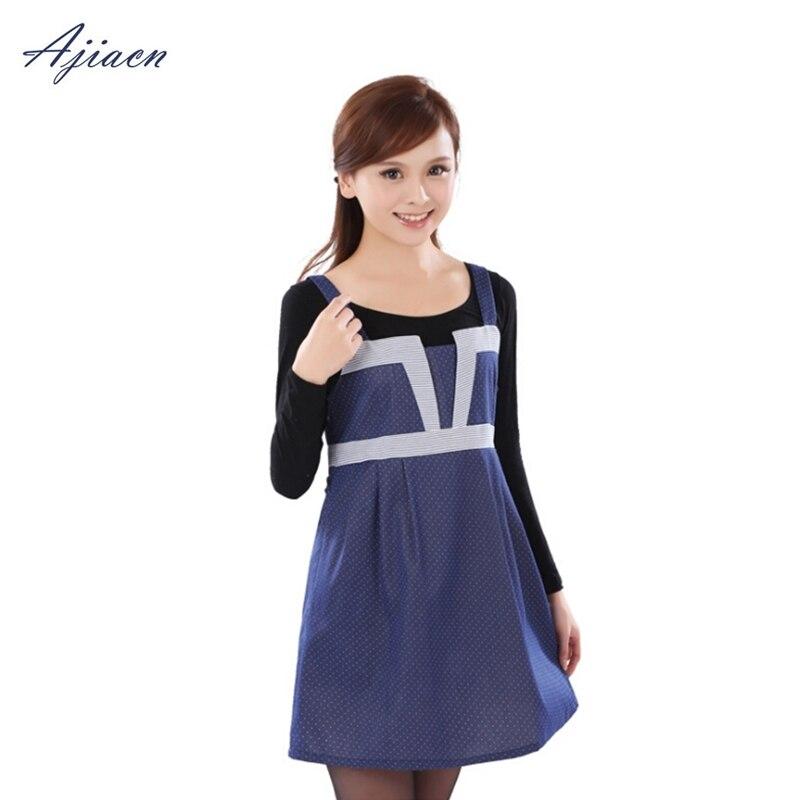 Livraison gratuite mode robe complète style vêtements de protection contre les rayonnements électromagnétiques fibre d'argent EMF protection vêtement de maternité