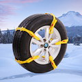 Lot of 10 Auto Mud Tires Trucks Snow Chain For Car Winter Wheels Protection Tyre Chains Automobiles Roadway Safety Accessories
