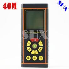 Buy 40M Digital Laser Distance Meter Rangefinder Laser Roulette Digital Laser Rangefinder Laser Distance Meter Measuring Meter